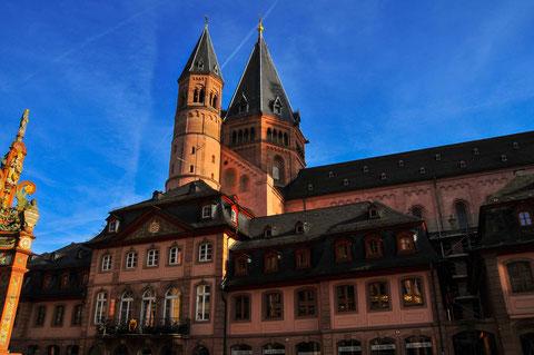 Mainz Hauptplatz Kirche