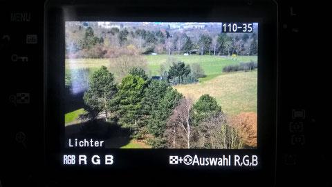 Nikon D300 - Beurteilung einer Aufnahme - Lichter