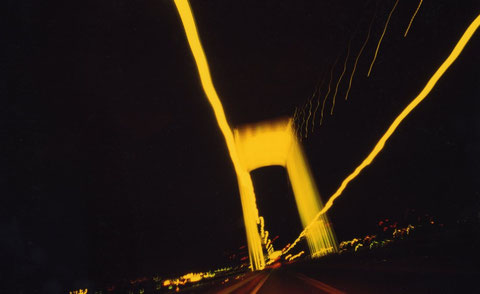 Rainbow Bridge, Tokyo, Japan.