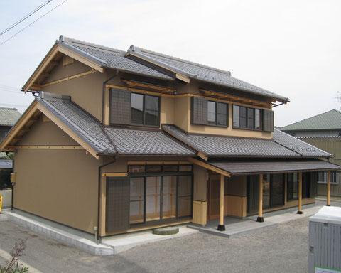 本物の和風の家