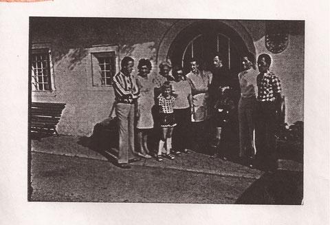 Gäste im Jahre 1977