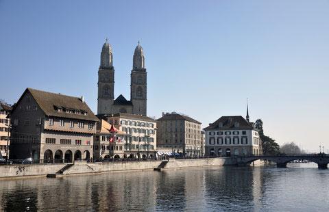 Ein Stadtrundgang in Zürich