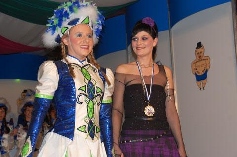 Lorena Müller und Nadine Lipski