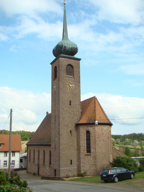 Heidersbacher Kirche St. Wendelin