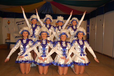 """Kampagne 2010 - Garde """"Blaue Funken"""""""