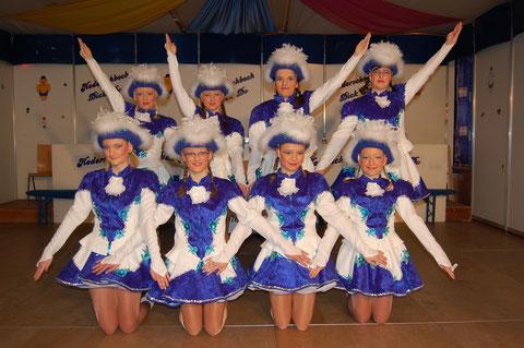 """Kampagne 2010 - Garde """"Blaue Garde"""""""