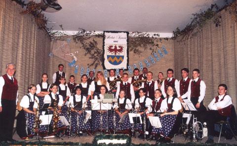 1997: Zweites Herbstkonzert unter der Leitung von Josef Seigner