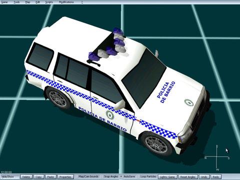 galloper policia local roquetas de mar