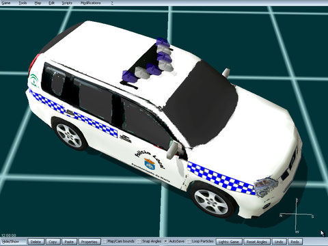 nissan xtrail policia local de maria