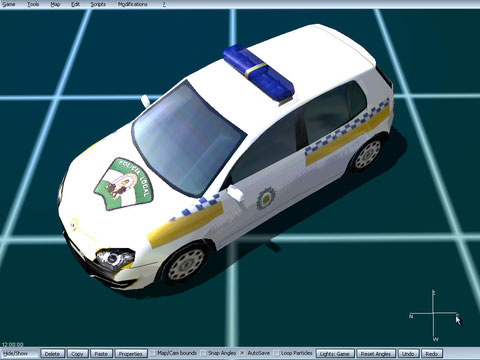 renault megane policia local albox