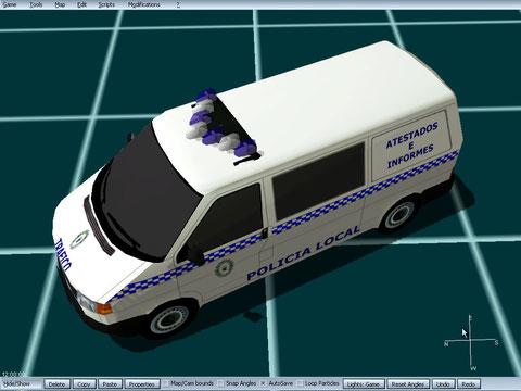 volkswagen t4 policia local roquetas de mar atestados e informes