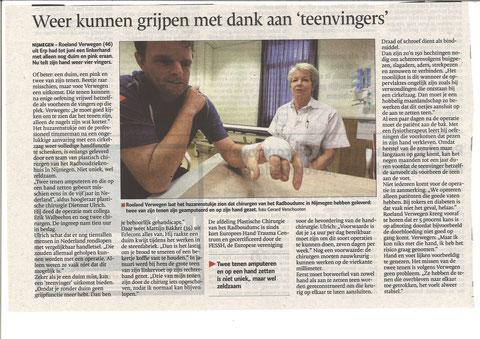 Gelderlander, 11 Juli 2014