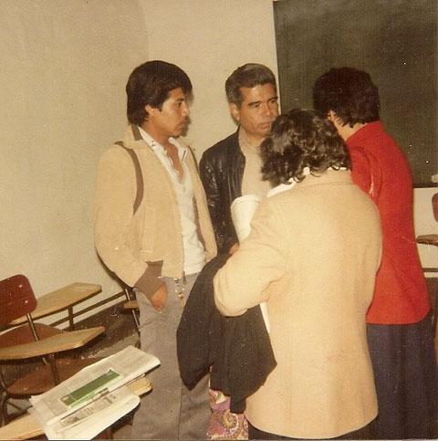 Cayo Vicente, Othón Salazar y maestras de la vieja guardia del Movimiento Revolucionario del Magisterio 1983