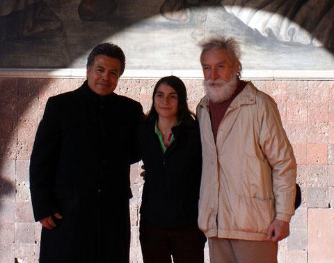 """Cayo Vicente, Carmen Zenil """"Piccolina"""" y Leopoldo Ayala (Arte Colectivo en Acción 2013)"""