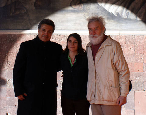 "Cayo Vicente, Carmen Zenil ""Piccolina"" y Leopoldo Ayala (ACA)"