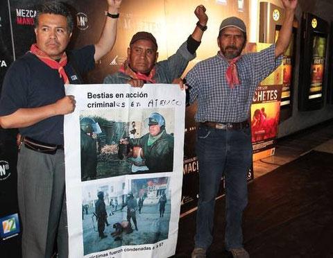 Cayo Vicente, Ignacio del Valle y Adán Espinoza FPDT
