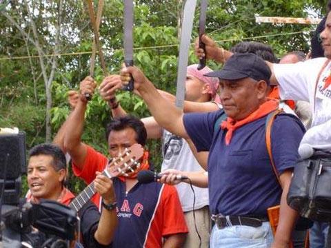 Cayo Vicente , militante del FPDT