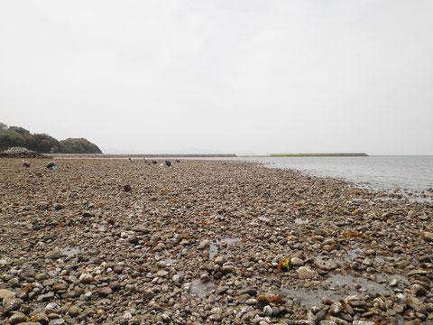 正確には真玉海岸から2kmくらいの所です