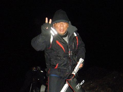 朝から参加の永山さんです