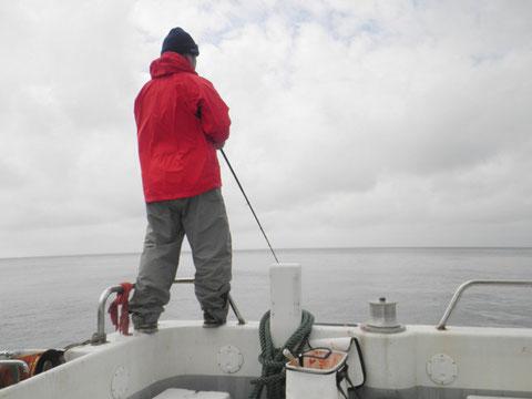 ポーターさんは船フカセしてました。いいサイズのシマアジが釣れてました。