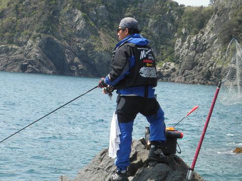 山ちゃんと二人っきりの釣りは男女以来^^