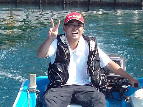 県南釣りバカさんが本当のキャプテン(船長)に!^^