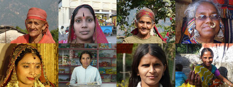 Women from North India