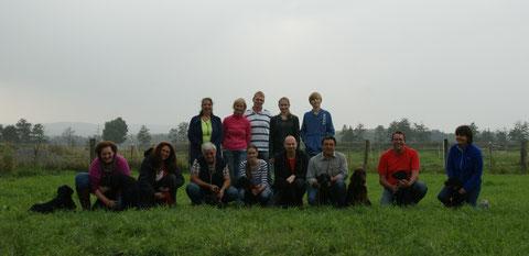 Folgende Reihenfolge: Oma Hope, Secret,Mama  Vicky, Fenja, Blanca, Anton, Johann, Pepzi, Papa Techno, Bolle und Bogy