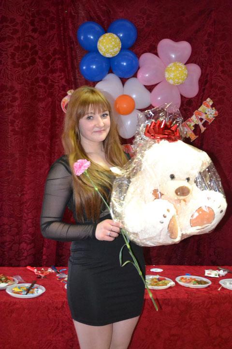 победительница конкурса мисс техникума 2014 Сконина Анастасия