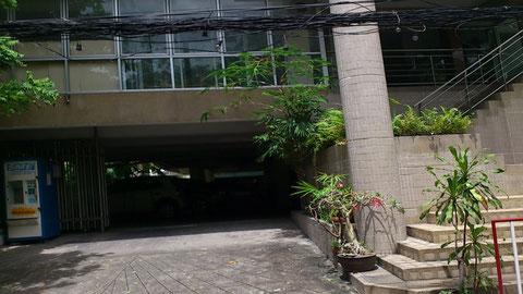 Sabaai Placeのエントランス