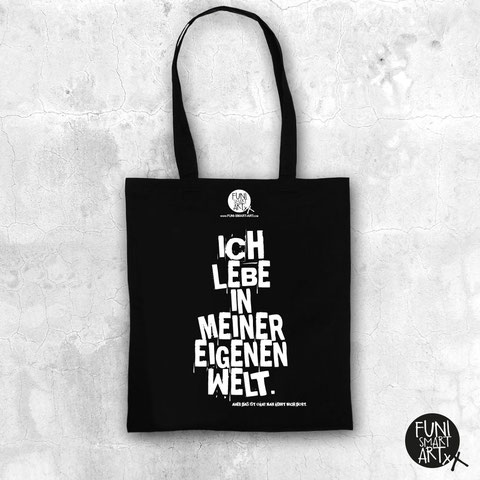 "FUNI SMART ART Beutel, Motiv ""Meine Welt."""
