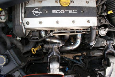 unglaublich Opel Sintra mit Fächerkrümmer