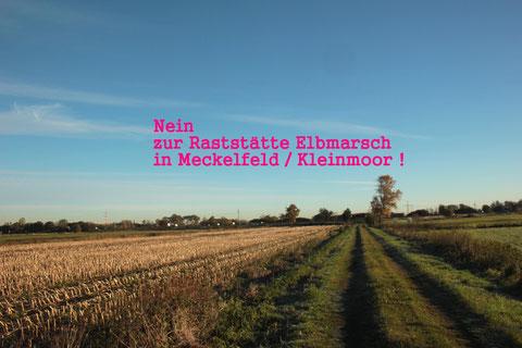 Protest LKW-Raststätte Meckelfeld