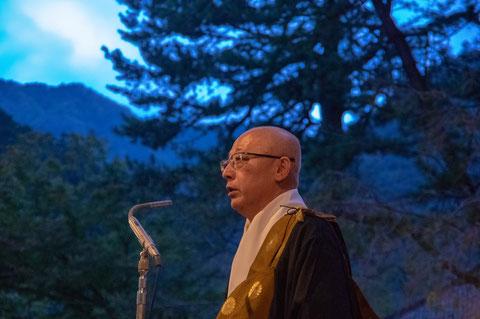 本成寺の住職