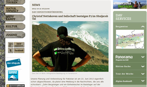 Karakorum Expedition 2013