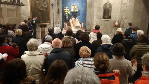 Célébration au Saint Sépulcre