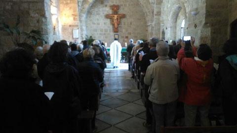 Célébration à Saint Jean d'Acre