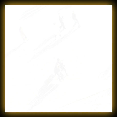 """Antonio D. Resurrección. """"Bandera Bianca #1"""". 50 x 50 cm. 2012"""