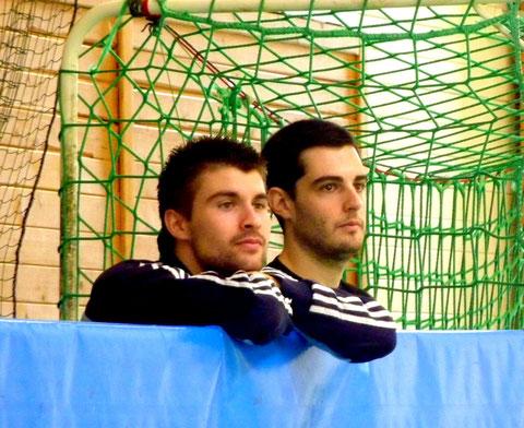 Sandro et Nico en mode supporters attentifs