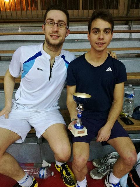 Nos champions du jour François et Maxime