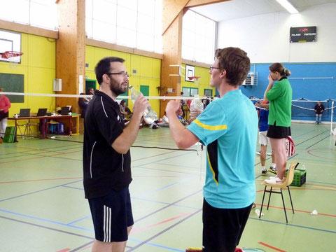 Yannck et Jérôme discutent stratégie