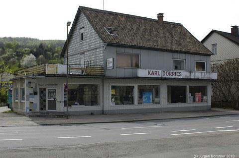 Das ehemalige Baugeschäft Dörries, auch Kohlen Dörries genannt.