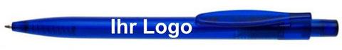 Unsere Kugelschreiber mit Werbedruck ab 14 Cent können Sie ideal als günstiges Werbematerial für Ihre Werbezwecke benutzen