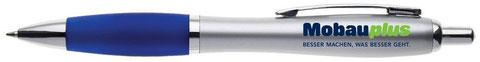 Als Kugelschreiber Werbegeschenk hat das Modell Premium ein optimales Preis Leistungs Verhältnis ab 19 Cent. Dieser bedruckte Kugelschreiber ist unser Topseller.