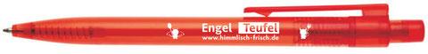 Kugelschreiber Basis als ideales Werbegeschenk ab 14 Cent bedruckt.