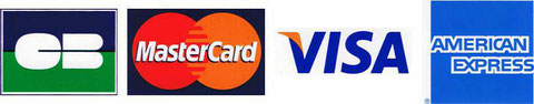 carte crédit et american express accepté