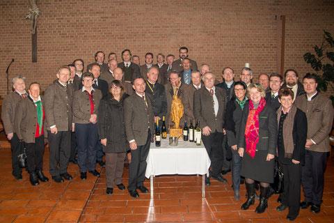Die Pfarre Krems St.Paul und die Hauerinnung Krems-Stein feierten gemeinsam die Einweihnung der neuen Paulus- Statue. Foto: zVg
