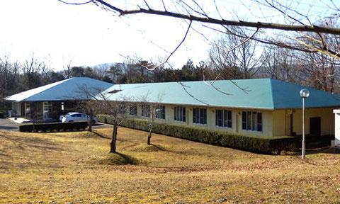 自炊型宿泊施設「久米ロッジ」外観