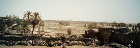 Die Ruinen des Wüstenschlosses Qasr al Azrag