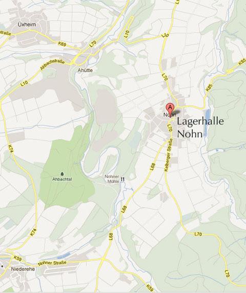 Lagerhalle Rollmann, Hauptstr.10, 54578 Nohn / Eifel / Nürburgring